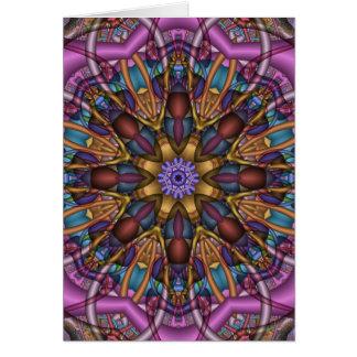 Decorative Kaleidoscope Thank You card