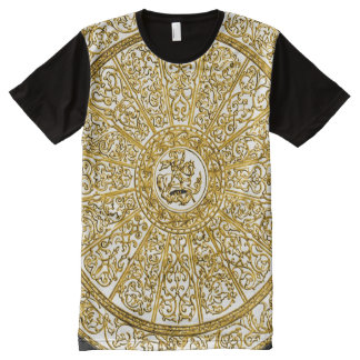 Decorative Kingsglaive High Magick Ritual Mandala All-Over Print T-Shirt