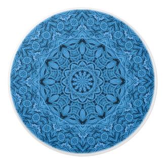 Decorative Knot Colorful Ceramic Knob