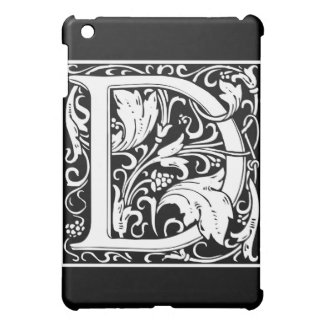 "Decorative Letter Initial ""D"" Case For The iPad Mini"