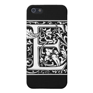 "Decorative Letter Initial ""E"" iPhone 5/5S Cover"