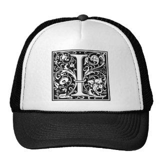 "DecorativeLetter Initial ""I"" Hat"