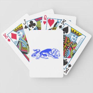 Decorative Lion Poker Deck