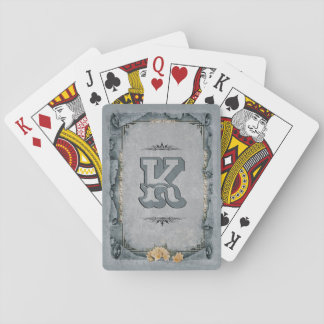 Decorative Monogram Playing Cards