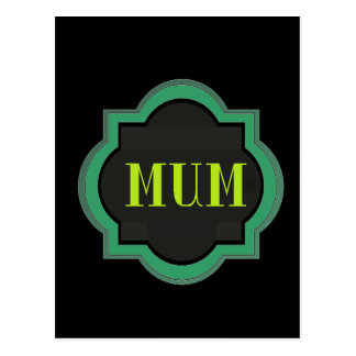 Decorative Mum Post Cards