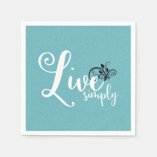Decorative Napkins | Live Simply Disposable Napkins