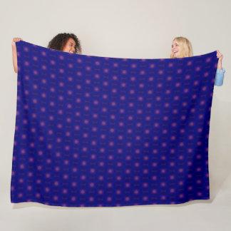 Decorative Norse Rune Stones Silk Pattern Fleece Blanket