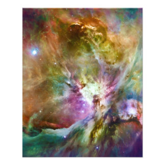 Decorative Orion Nebula Galaxy Space Photo 11.5 Cm X 14 Cm Flyer