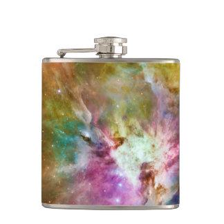Decorative Orion Nebula Galaxy Space Photo Flasks