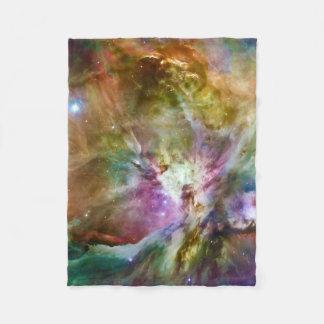 Decorative Orion Nebula Galaxy Space Photo Fleece Blanket