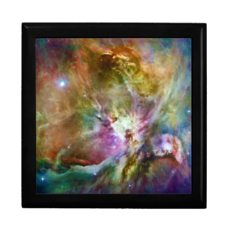 Decorative Orion Nebula Galaxy Space Photo Large Square Gift Box