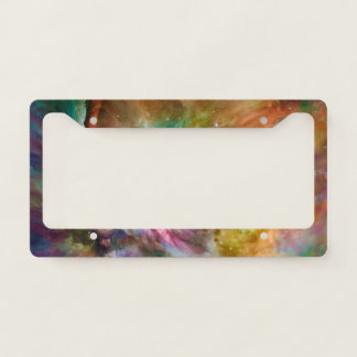 Decorative Orion Nebula Galaxy Space Photo Licence Plate Frame