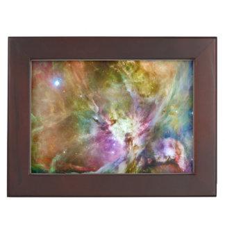 Decorative Orion Nebula Galaxy Space Photo Memory Boxes
