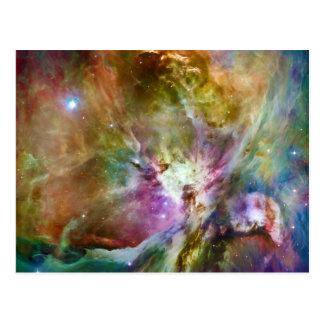 Decorative Orion Nebula Galaxy Space Photo Postcard