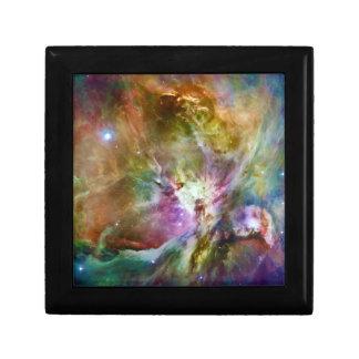 Decorative Orion Nebula Galaxy Space Photo Small Square Gift Box