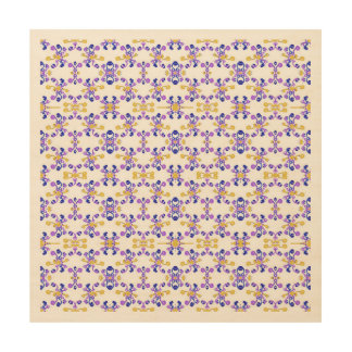 Decorative Ornate Pattern Wood Print