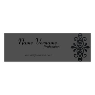 Decorative Pack Of Skinny Business Cards