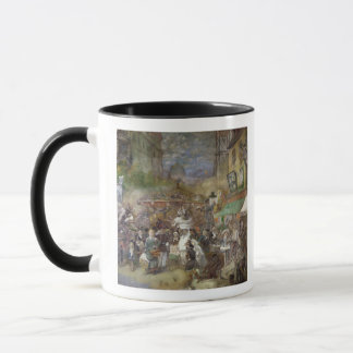 Decorative panel depicting Paris Mug