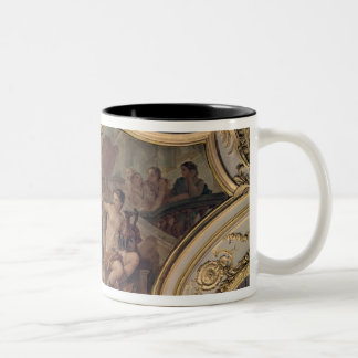 Decorative panel from the Oval Salon Mugs