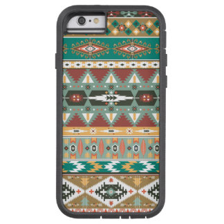 Decorative pattern in aztec style tough xtreme iPhone 6 case