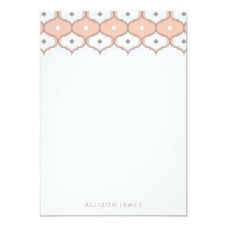 Decorative pattern note cards 13 cm x 18 cm invitation card