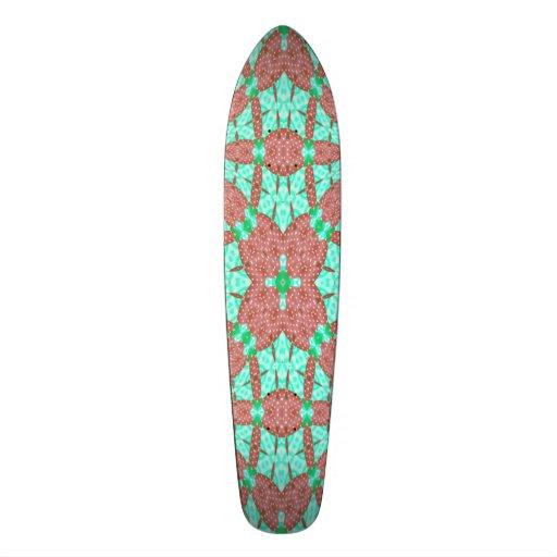 Decorative pattern skate board