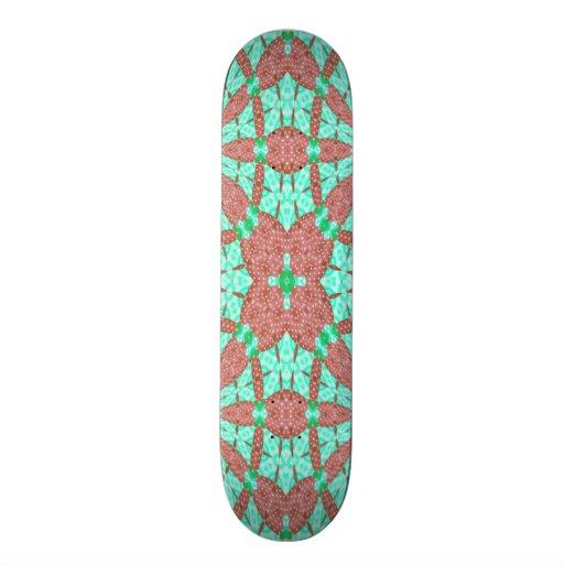 Decorative pattern custom skate board