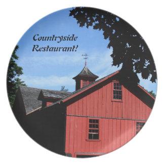 Decorative Plate  Countryside Design, customize