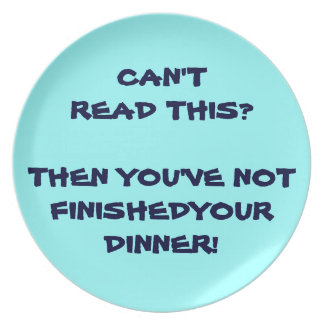 Decorative Plate - Funny