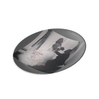 Decorative Porcelain Plate: Wedding Series