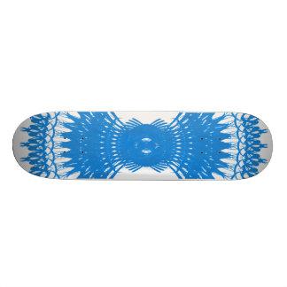 Decorative Radial Pattern: Skateboard