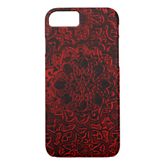 Decorative Red Demon Lotus Mandala iPhone iPhone 7 Case
