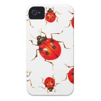 DECORATIVE RED LADY BUG GIFTS Case-Mate iPhone 4 CASE