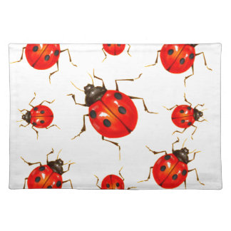 DECORATIVE RED LADY BUG GIFTS PLACEMAT