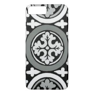 Decorative Renaissance Rosette Tile Design iPhone 7 Plus Case
