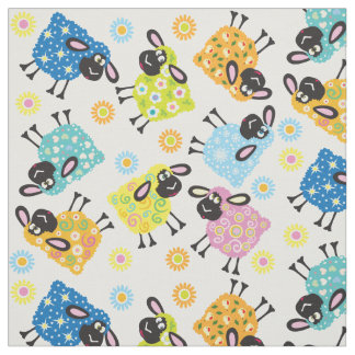 decorative sheep fabric