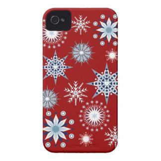 Decorative snowflakes Blackberry bold case
