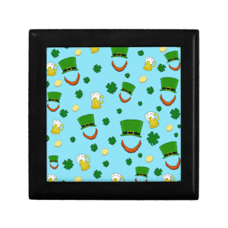 Decorative St. Patrick's day pattern Gift Box