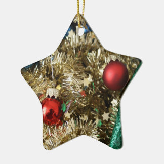 Decorative star christmas tree ornaments
