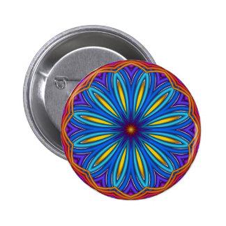 Decorative Starburst Medallion Button