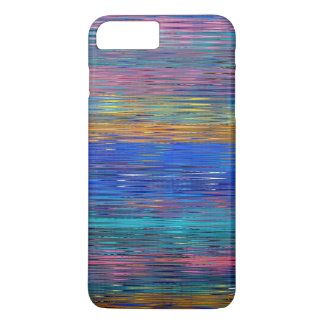 Decorative Stripes Mosaic Pattern #2 iPhone 7 Plus Case