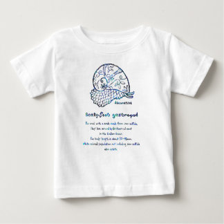 < Decorative sukerihutsuto (blue mother-of-pearl Baby T-Shirt