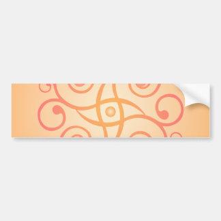 Decorative Swirls / Spirals: Vector Art: Bumper Sticker