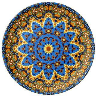Decorative Talavera meets Country French Plates VI