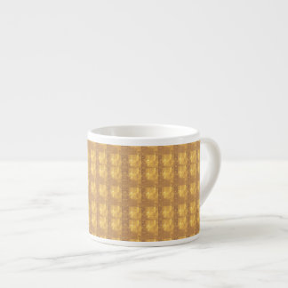 Decorative Textures Pattern Shade Add TEXT PHOTO Espresso Cup