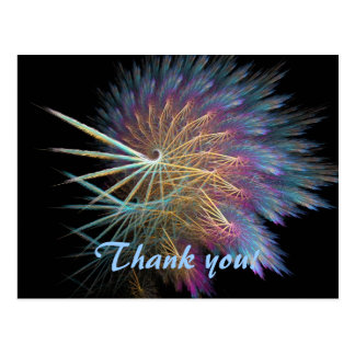Decorative Thank you card Post Card