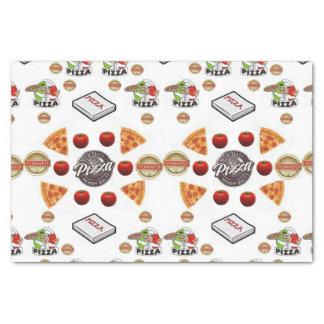 Decorative tissue paper Pizza