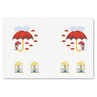 Decorative tissue paper Rain