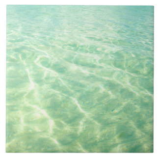 Decorative Turquoise Ocean Water Tile