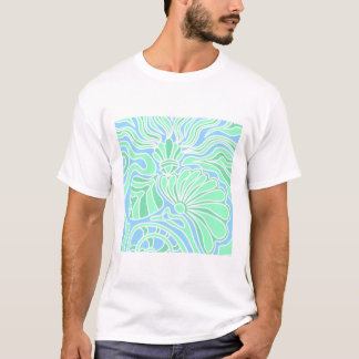 Decorative Underwater Themed Design. T-Shirt
